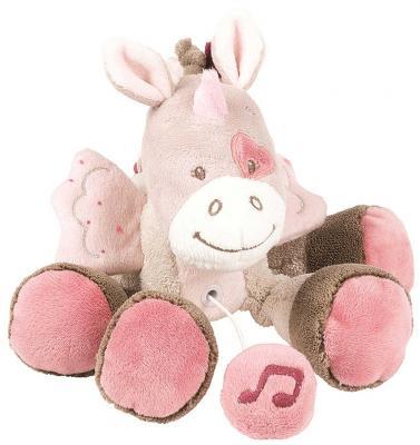 Интерактивная игрушка Nattou Soft Toy Mini Nina, Jade & Lili Единорог от 6 месяцев розовый 987097 mini jade facial roller