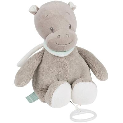 Интерактивная игрушка Nattou Soft Toy Loulou, Lea & Hippolyte Бегемот от 6 месяцев коричневый 963077 1pc 10 20cm funny plush penis toy doll soft stuffed creative simulation penis pillow cute sexy kawaii toy gift for girlfriend