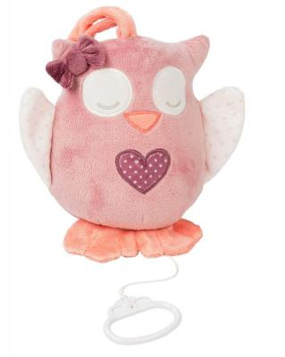 Интерактивная игрушка Nattou Soft Toy Adele&Valentine Сова от 6 месяцев бежевый 424066 интерактивная игрушка сова с домиком
