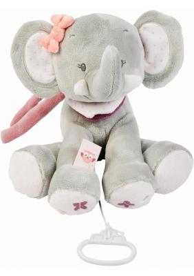 Интерактивная игрушка Nattou Soft Toy Adele&Valentine Слоник от 6 месяцев серый 424059 giant valentine teddy bear soft toy 200cm 2m huge large big stuffed toys animals plush life size kid baby dolls lover toy llf