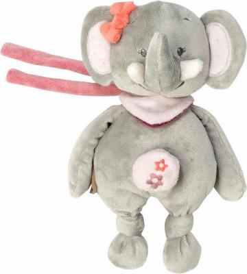 Интерактивная игрушка Nattou Soft Toy Mini Adele&Valentine Слоник от 6 месяцев серый 424080 интерактивная игрушка chicco музыкальная лейка от 6 месяцев разноцветный 07700