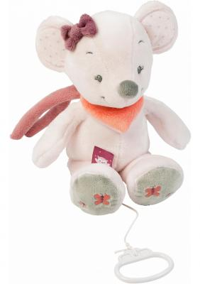 Интерактивная игрушка Nattou Soft Toy Adele&Valentine Мышка от 6 месяцев белый 424042