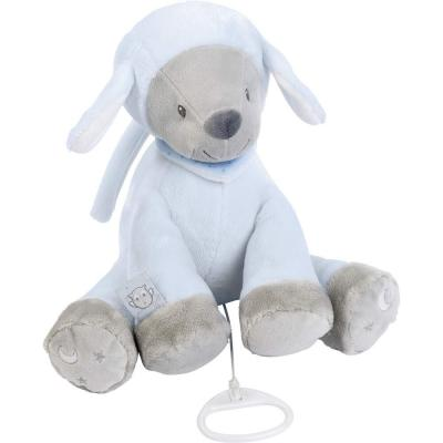 Интерактивная игрушка Nattou Soft Toy Sam&Toby Овечка от 6 месяцев голубой 604048 creative simulation plush soft fox naruto toy polyethylene