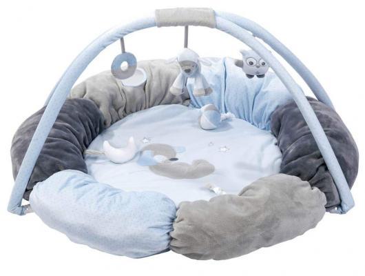 Купить Игровой коврик круглый Nattou Sam Toby Овечка и Собачка 604260, Развивающие коврики и дуги