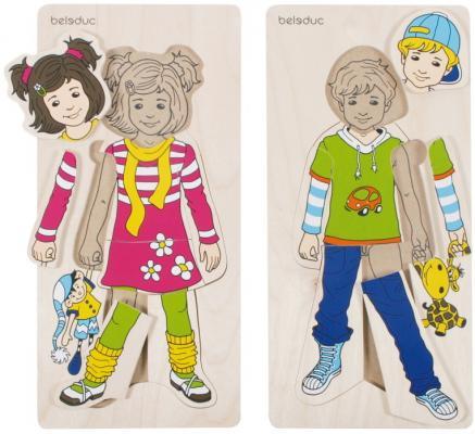 Фото - Развивающий Пазл Аника и Денис пижама трикотажная аника синяя