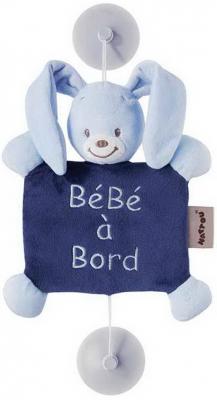 Знак автомобильный Nattou Baby on board Alex Bibou Кролик 321358