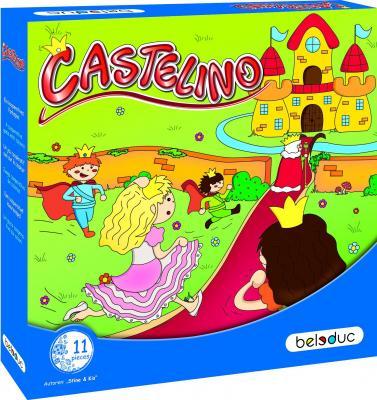 Развивающая игра Замок Кастелино игры для малышей beleduc развивающая игра замок кастелино 22423