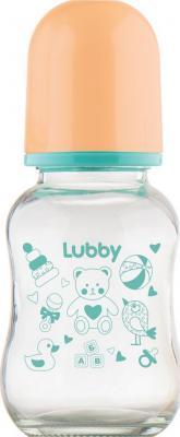 Бутылочка для кормления с соской молочной Малыши и Малышки, от 0 мес., 120мл.,стекло, силикон бутылочка для кормления с соской молочной just lubby от 0 мес 125мл полипропилен силикон с руч