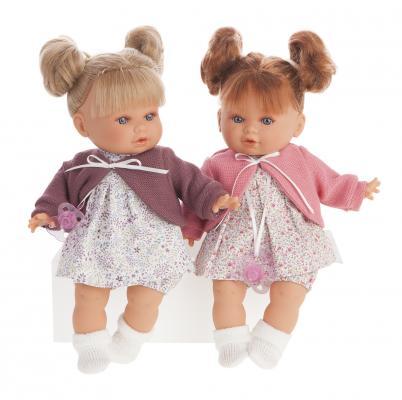 1333P Кукла Монси в розовом, плач., 30 см