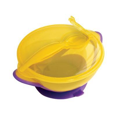 Тарелка Lubby Классика 1 шт желтый от 6 месяцев 13952