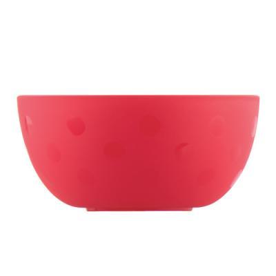 Тарелка Lubby Just LUBBY 1 шт красный от 6 месяцев 13974