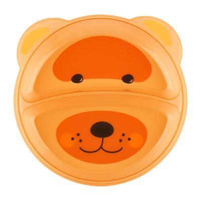 Тарелка Lubby Just LUBBY 1 шт оранжевый от 6 месяцев 20152
