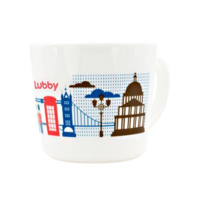 Купить Кружка Lubby Любимая Лондон 1 шт рисунок от 1 года 15632, Детская посуда для кормления