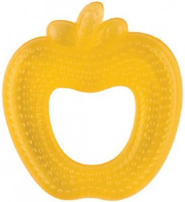 Игрушка-прорезыватель Lubby Яблочко желтый с 4 месяцев охлаждающий игрушка прорезыватель lubby тигренок с водой с 4 мес