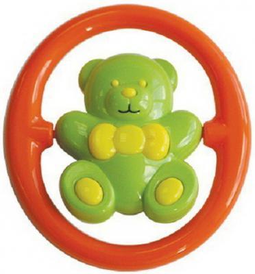 Купить Игрушка-Погремушка Мишутка - Акробат , от 3 мес., пластик, Lubby, разноцветный, унисекс, Погремушки и прорезыватели