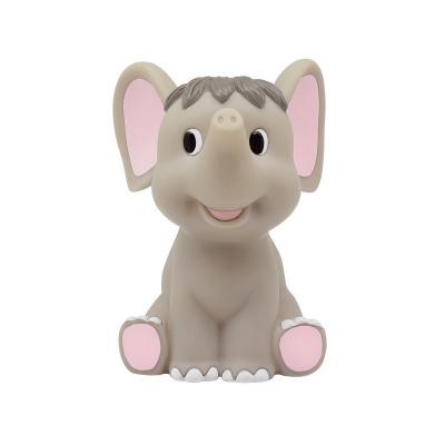 Игрушка для купания для ванны Lubby Слоник-Пищалка 12 см 16626