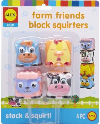 Набор игрушек для ванны Март разное Веселая ферма 200050 пазлы learning journey набор пазлов веселая ферма