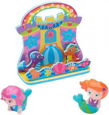 200010-4 Набор фигурок-стикеров для ванны Русалочки игровые наборы море чудес набор грот русалочки