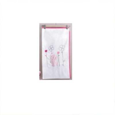 Плед 80x120см KidBoo Elephants (велософт/pink)