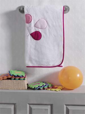 Купить Плед велсофт Happy Birthday , 100% полиэстер, размер 80*120 см, KIDBOO, розовый, 80 x 120 см, Одеяла и пледы