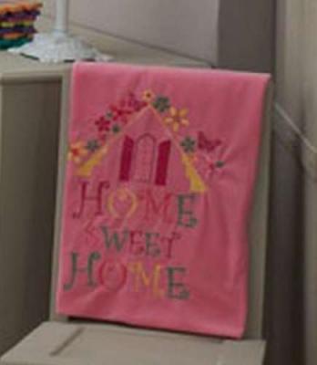 Плед 80x120см KidBoo Sweet Home (велософт/pink)