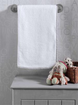 Плед 80x120см KidBoo Blossom Linen (флисовый/white)