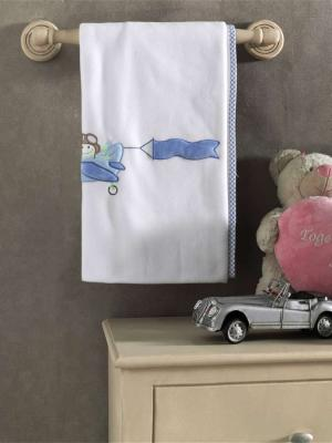 Плед флисовый Little Pilot, 100% полиэстер, размер 80*120 см пледы kidboo lets race флисовый