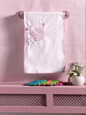 Плед флисовый Sweet Flowers, 100% полиэстер, размер 80*120 см пледы kidboo lets race флисовый