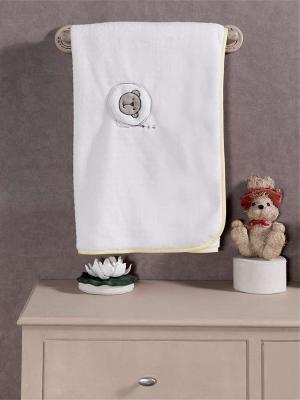 Плед хлопок/велюр серии Little Bear, 75% хлопок, 25% полиэстер, размер 80*90 см kidboo kidboo халат little pilot махровый белый