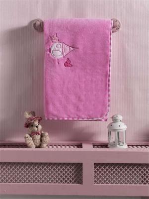 Купить Плед хлопок/велюр серии Lovely Birds , 75% хлопок, 25% полиэстер, размер 80*90 см, KIDBOO, розовый, 80 х 90 см, Одеяла и пледы