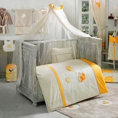 Комплект постельного белья 3 предмета KidBoo Butterfly (yellow)