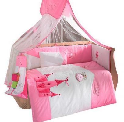 Комплект постельного белья 3 предмета KidBoo Little Princess (pink)