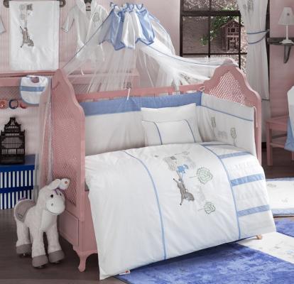 Комплект постельного белья 3 предмета KidBoo Little Farmer (blue)