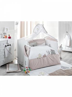 Комплект постельного белья 3 предмета KidBoo Safari (beige)