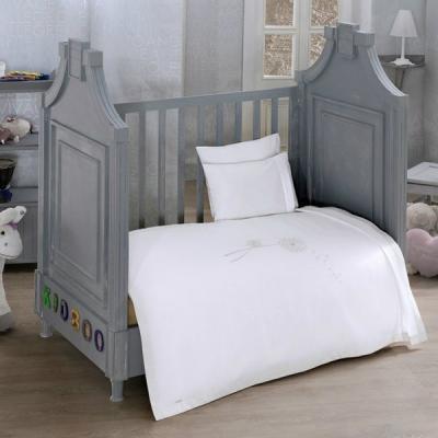 Комплект постельного белья 3 предмета KidBoo Spring saten (white)