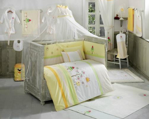 Комплект постельного белья 3 предмета KidBoo Sunny Day (yellow)
