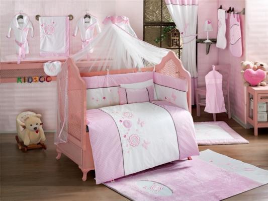 Комплект постельного белья 3 предмета KidBoo Sweet Flowers (pink)