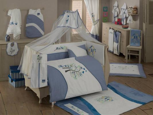 Комплект постельного белья 3 предмета KidBoo Sweet Home (blue)