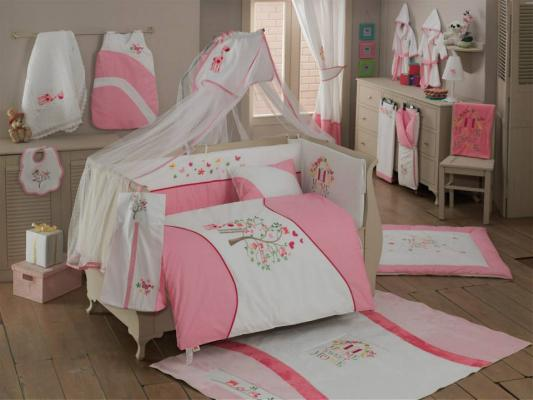 Комплект постельного белья 3 предмета KidBoo Sweet Home (pink)