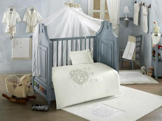 Комплект постельного белья 3 предмета KidBoo Valentine Saten (vanila)
