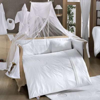 Комплект постельного белья 3 предмета KidBoo White Dreams (white)