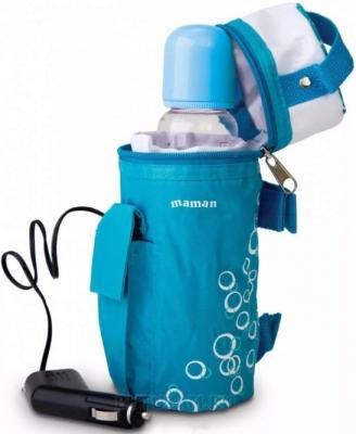 Стерилизатор-подогреватель Maman LS-C001 синий стерилизатор для свч maman ls b701