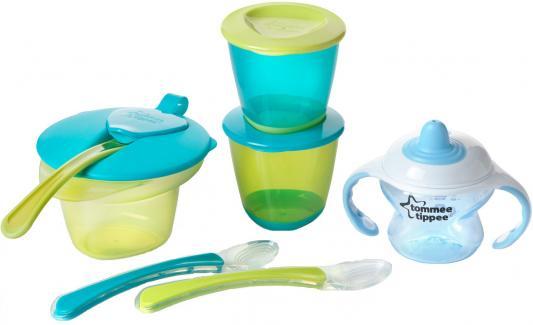 Купить Набор для введения первого прикорма для мальчиков., Tommee Tippee, голубой, для мальчика, Бутылочки для кормления