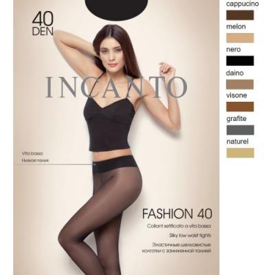 Incanto Колготки Fashion 40 Daino, 3 колготки giulia bikini размер 3 плотность 40 den daino
