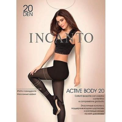 Incanto Колготки Active Body 20 Nero, 4 incanto колготки active body 20 xxl daino u a
