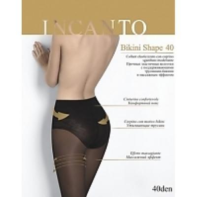 Incanto Колготки Bikini Shape 40 Nero, 4 halter crisscross cropped bikini set