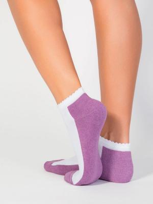 все цены на Incanto Носки женские cot IBD731004 bianco/lilla M, 3 онлайн