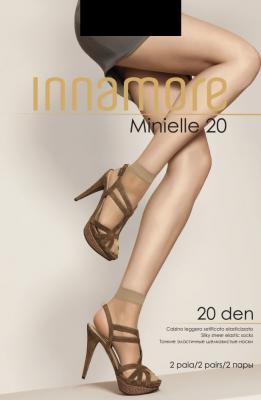 Innamore Носки Minielle 20 Lycra Nero носки minimi brio lycra 20 nero черные размер универсальный