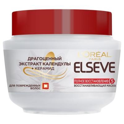 LOREAL ELSEVE Маска для волос Полное восстановление 5 300мл для загара loreal