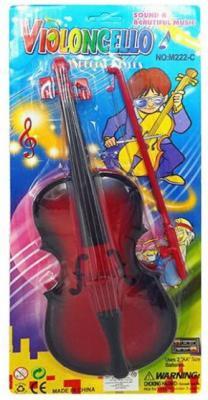 Музыкальный инструмент Наша Игрушка Скрипка музыкальный инструмент 5 б